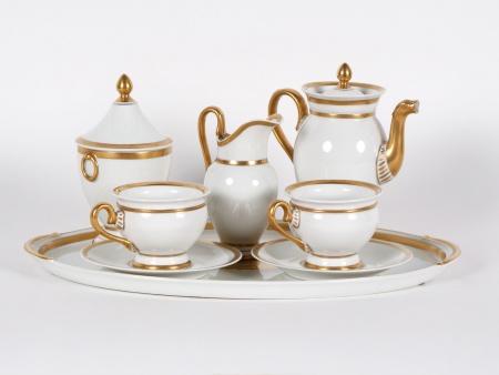 Empire Tête-à-Tête Limoges Porcelain Set - IB02457