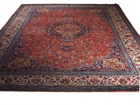 Najaf Isfahan Persian Carpet - IB02503