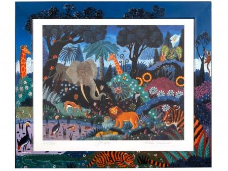 "Alain Thomas: ""La Jungle"" - IB02570"