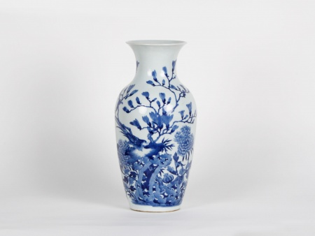 Blue White Chinese Porcelain Vase - IB02592