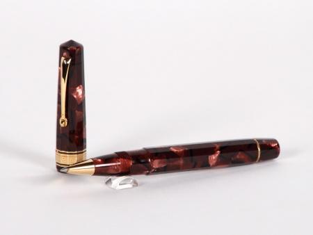 Omas Roller de Couleur Bordeaux - IB02967