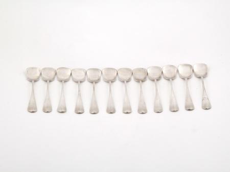 Twelve Ice Cream Spoons - IB03087