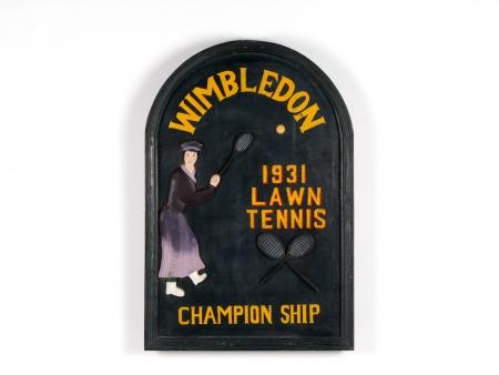 Wooden Wimbledon Pannel - IB03189