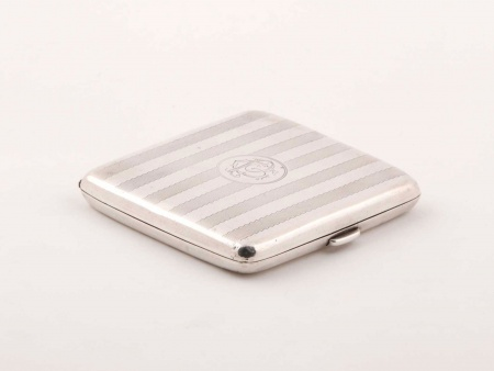W&M.co Sterling Silver Cigarette Box - IB03199