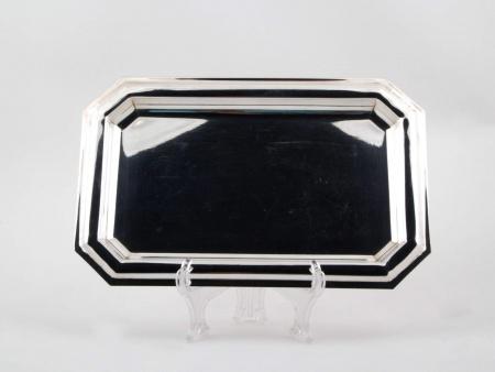 Platter in Silver Plated Metal - IB03263