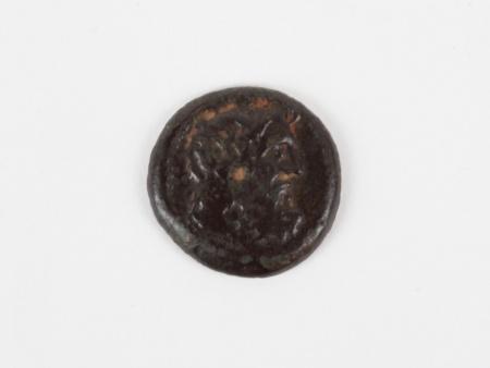 Greek Bronze Coin Laconia Lacedaemon - IB03395