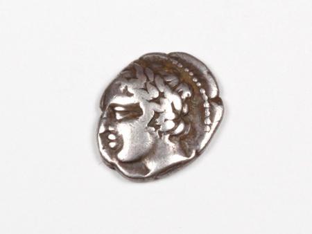Greek Silver Coin Macedonian Tetrobol - IB03435