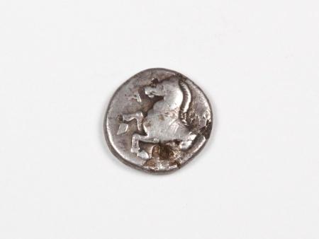 Pièce Grecque en Argent Thrace Maroneia. Poids: 2.4 grs - IB03457