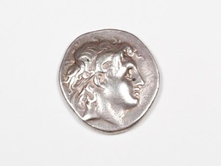 Pièce Grecque en Argent Lysimachus. Poids: 16.9 grs - IB03460