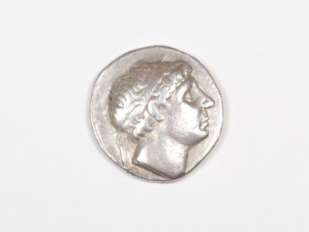 Pièce Grecque en Argent Antiochus I. Poids: 16.9 grs - IB03461