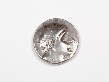 Pièce Grecque en Argent Antiochus III. Poids: 17 grs. 222 - 187 av. J.C. - IB03462