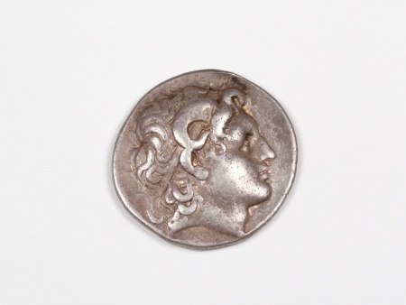 Greek Silver Coin Lysimachus. 323 - 231. B.C. - IB03465