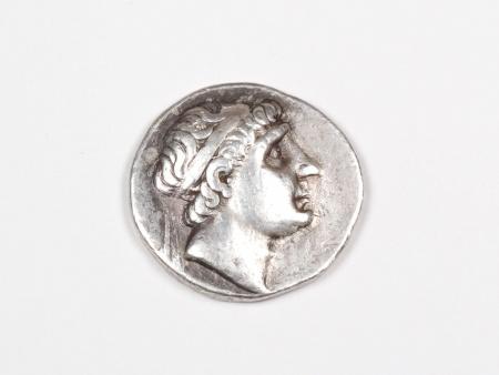 Pièce Grecque en Argent Antiochus I. Poids: 16.90 grs. 261 - 246 av. J.C. - IB03466