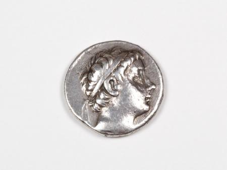 Pièce Grecque en Argent Antiochus III. Poids: 17 grs - IB03467