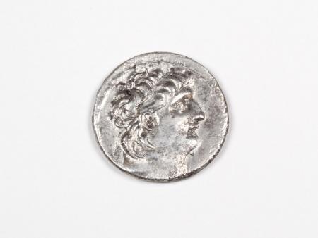 Pièce Grecque en Argent Antiochus VIII. Poids: 15 grs - IB03468