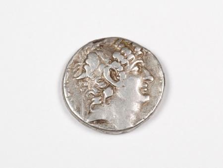 Greek Silver Coin Philippus. 92 - 83 B.C. - IB03469