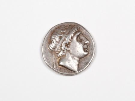 Pièce Grecque en Argent Antiochus I. Poids: 16.80 grs - IB03471