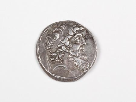Pièce Grecque en Argent Demetrios II. Poids: 16.2 grs - IB03475