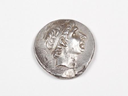 Pièce Grecque en Argent Antiochus I. Poids: 16.90 grs - IB03476