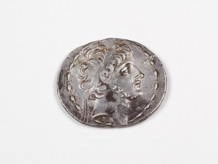 Pièce Grecque en Argent Antiochus IX. Poids: 16.30 grs - IB03477