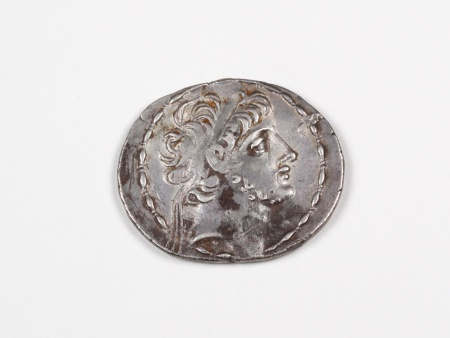 Greek Silver Coin Antiochus IX - IB03477
