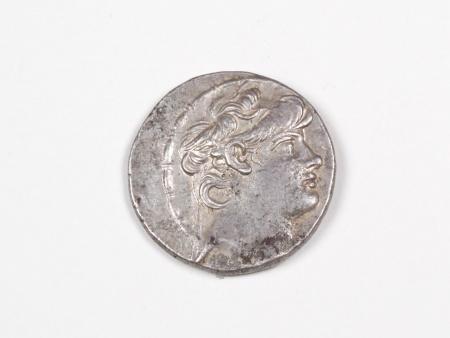 Pièce Grecque en Argent Antiochus X. Poids: 15.6 grs - IB03478