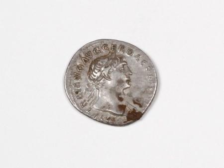 Pièce Romaine en Argent Trajan. Poids: 3 grs - IB03536