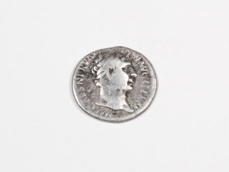 Pièce Romaine en Argent Trajan. Poids: 3.10 grs - IB03543