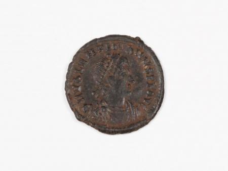 Pièce Romaine en Bronze Valentinien I. Poids: 1.6 grs - IB03549