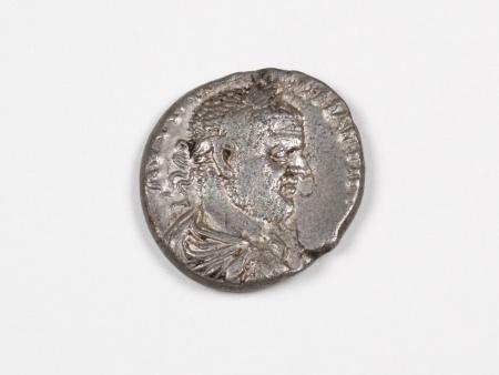 Pièce Romaine en Argent Macrinus. Poids: 11.6 grs - IB03556