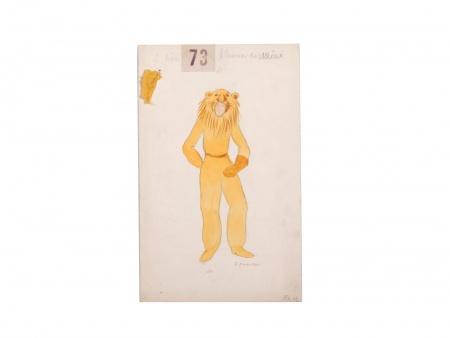 Georges Annenkov. Lion Costume - IB03690