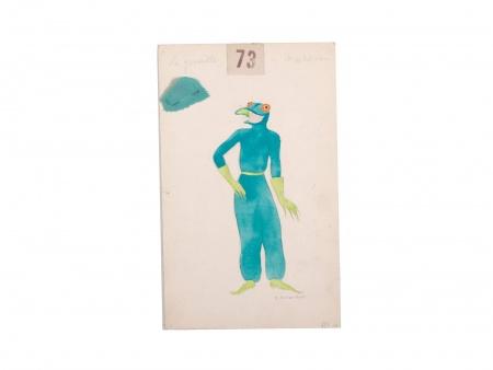 Georges Annenkov. Frog Costume - IB03691