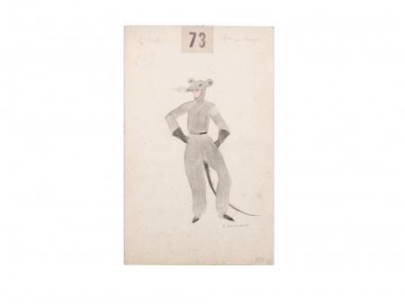 جورج أنينكوف. لباسٌ أتان للمسرح - IB03692