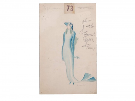 Georges Annenkov. Fish Costume - IB03693