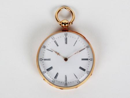 Gold Gousset Watch - IB03777