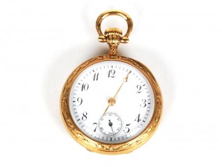 Poitevin & Lejeune Gold Gousset Watch - IB03778