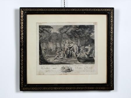 Engraving by J.M.Moreau le Jeune - IB03800