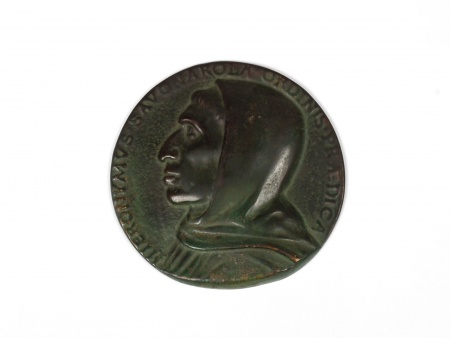 Medal in Patinated Bronze - IB03965