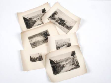 Six 19th and Early 20th Century Engravings - IB03986