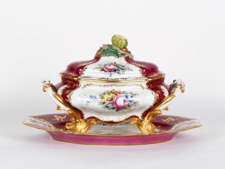 D. Génard Tureen in Porcelaine de Sèvres - IB04044