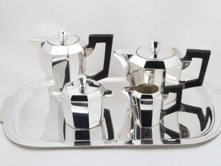 Art Deco Ercuis Tea Set - IB04047