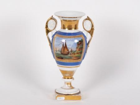 Meslier Vase in Porcelaine de Paris - IB04048