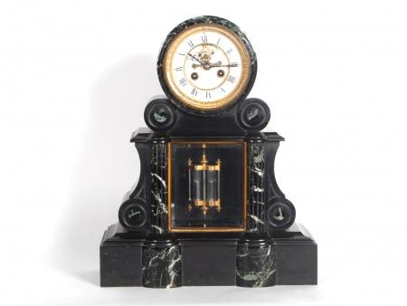 Marble Clock. France. 19th Century - IB04069
