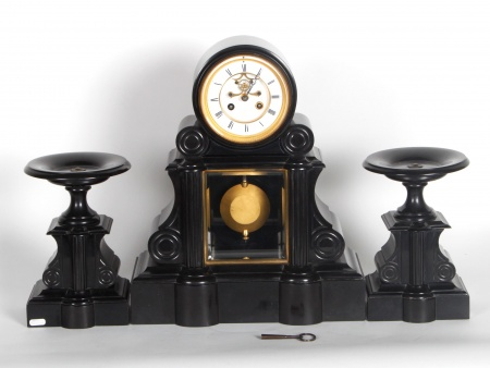 """""""Dubouch à Auch"""" Mantel clock - IB04070"""