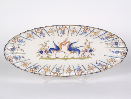 Martres Tolosane Earthenware Platter - IB04102