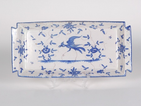 19th Century Platter in Martres Tolosane Earthenware - IB04184