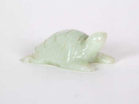 Chinese Jade Turtle. 19th Century - IB04289