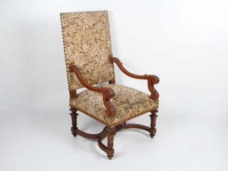 Louis XIV Style Armchair. 19th Century - IB04297