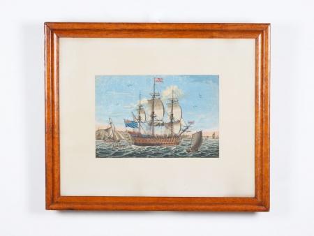 Marine Engraving. Late 19th Century - IB04306