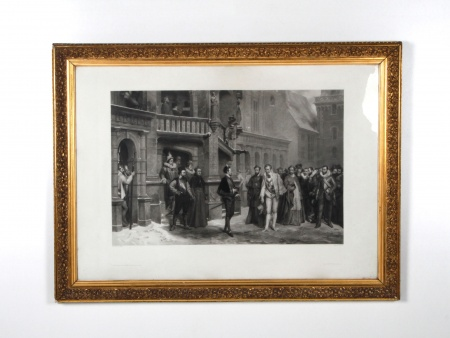 19th Century Engraving after a Pierre Charles Comte Painting - IB04312